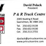 P&R business card