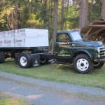 1952 Dodge w/trailer