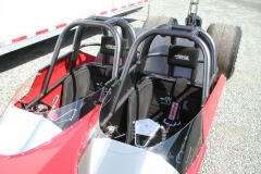 Cockpit from Red 2 Seater Dragster from Race Tech