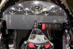 White 3 Seater Dragster from Race Tech's Cockpit