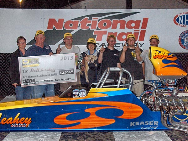 Bill Leahey wins 25th Anniversary Jegs Super Quick Event