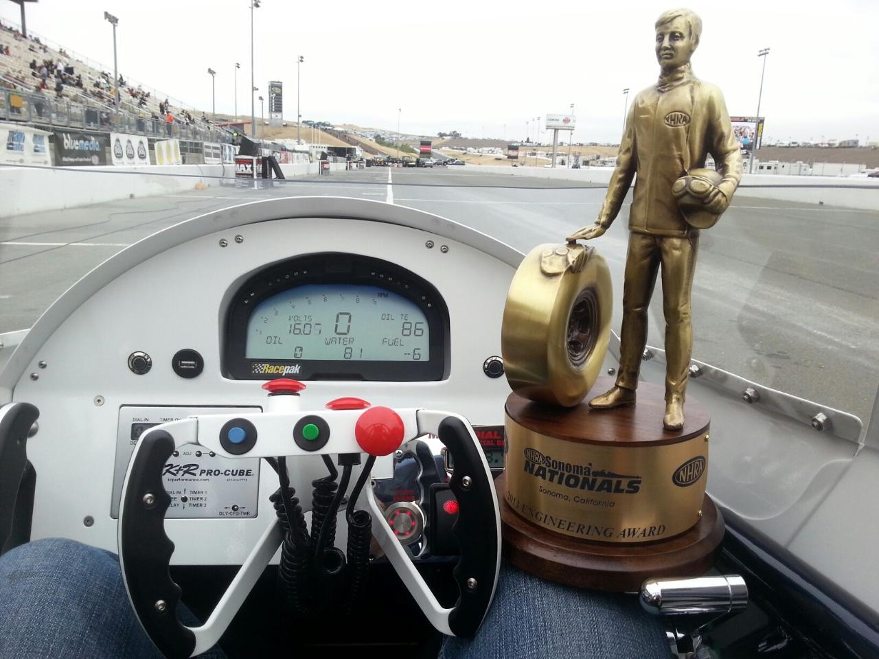 Jesse Adams Wins Best Engineered at NHRA Nationals in Sonoma
