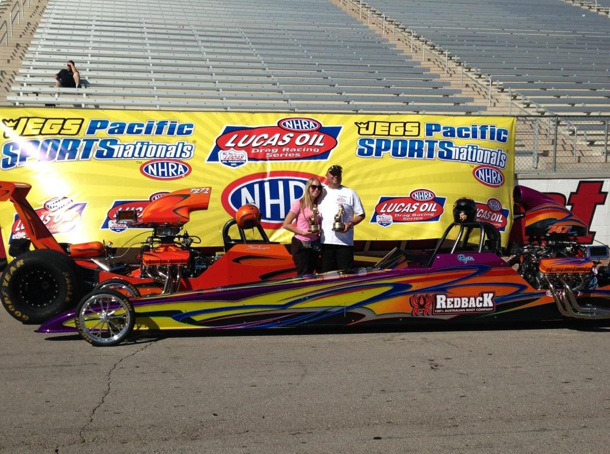 Ryan Lamb wins Best Appearing at Las Vegas NHRA Divisional