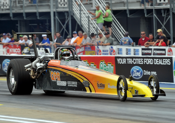 Allen O'Brien Wins Top Dragster final at Reading LODRS