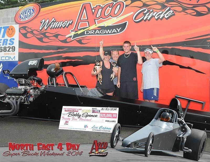 Bobby Spence 25K Winner at ATCO Northeast 4 Day Super Bucks Weekend