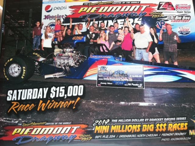 Tim Thomas Wins $15K at Piedmont Mini Millions