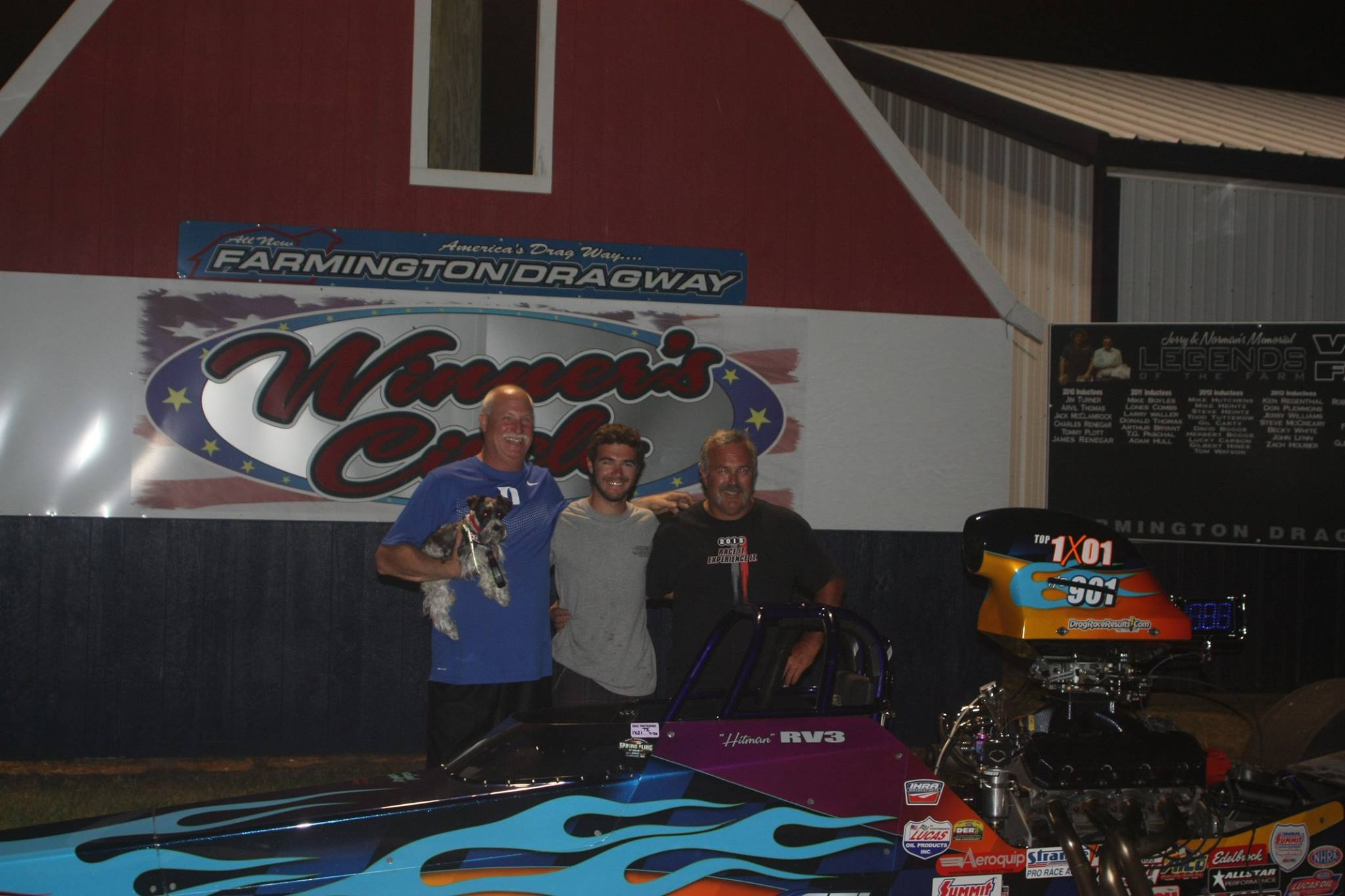 Robert Vogler III Crowned Farmington Dragway Track Champion with Race Tech Dragster