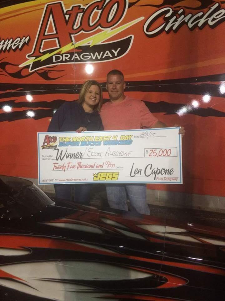 Scotty Albrecht gets a $25K Win