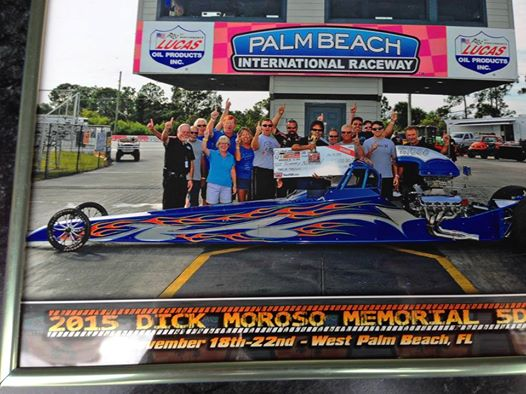 Tommy Norton Big 5 Day Winner at West Palm Beach - Won Using Race Tech Dragster