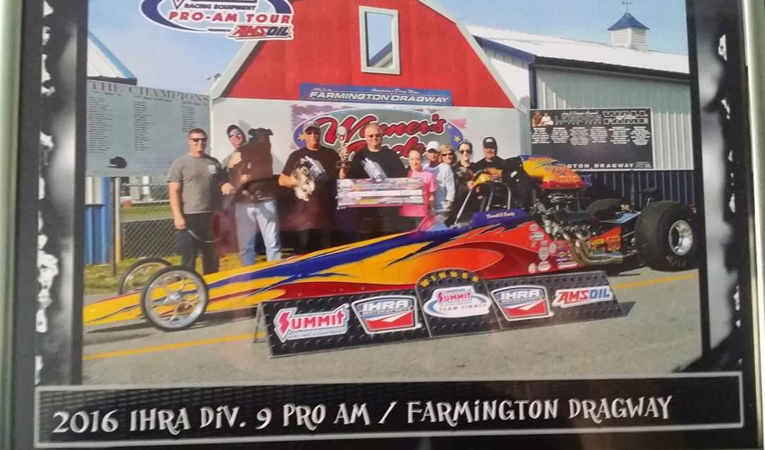 Darrell Collins Race Tech Wins