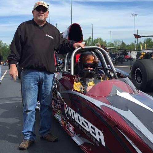 Danny Waters Jr. takes his Race Tech to the Finals at the NHRA Four Wide Nationals