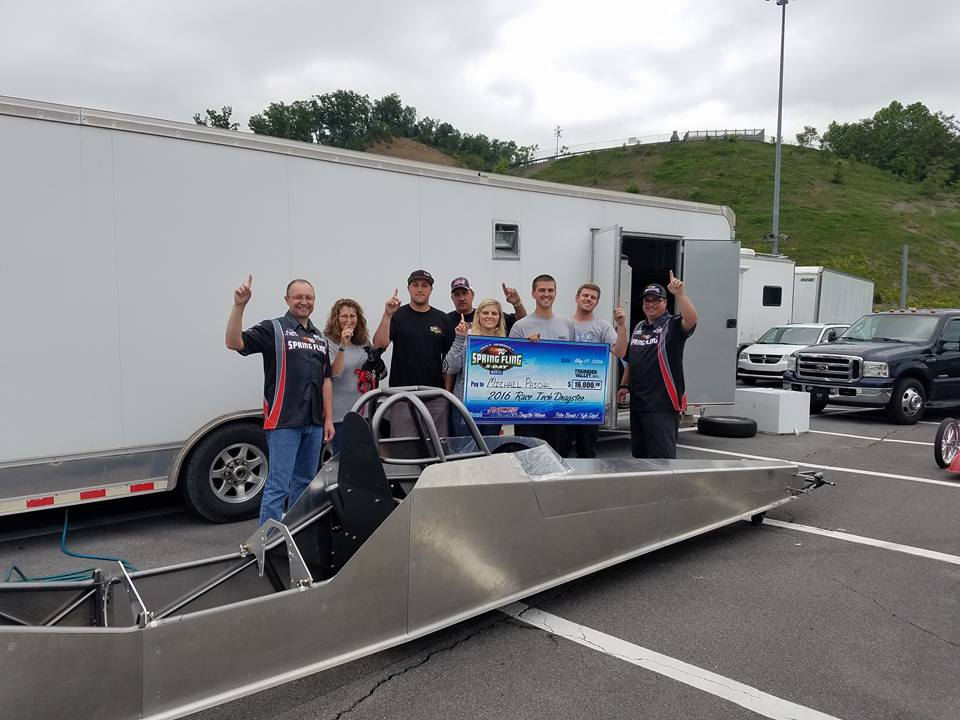 Micheal Paschal wins Race Tech Swing Arm Dragster