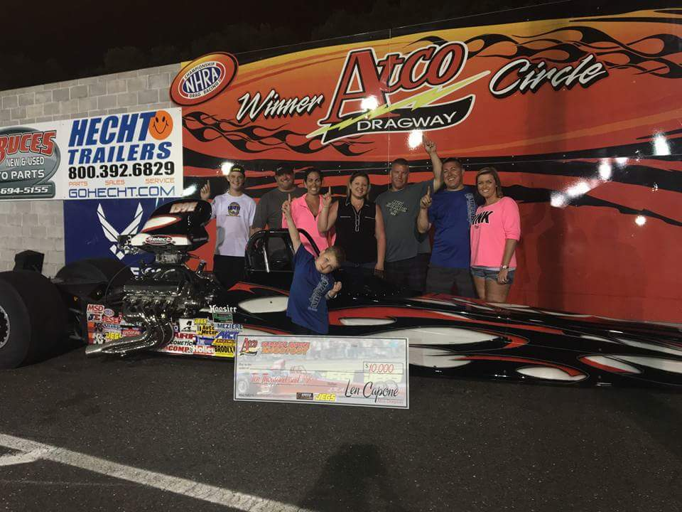 Albrecht Doubles up at ATCO