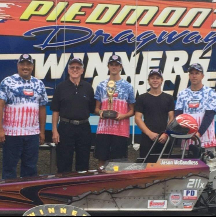 Jason McCandless Jr Crowned Division Champion