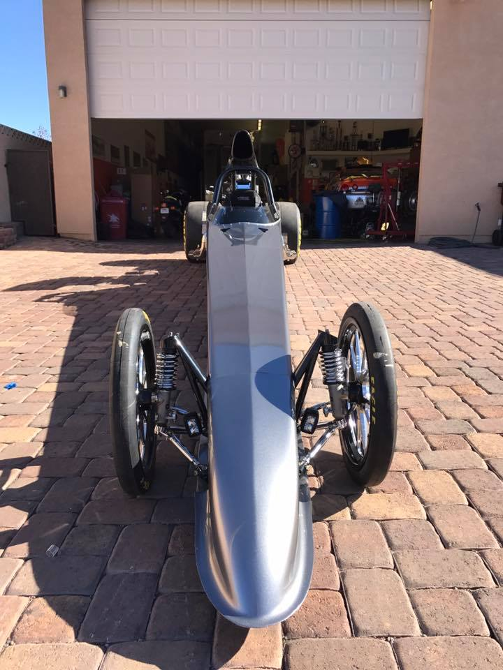 Justin Lamb Puts Final Touches on New Dragster