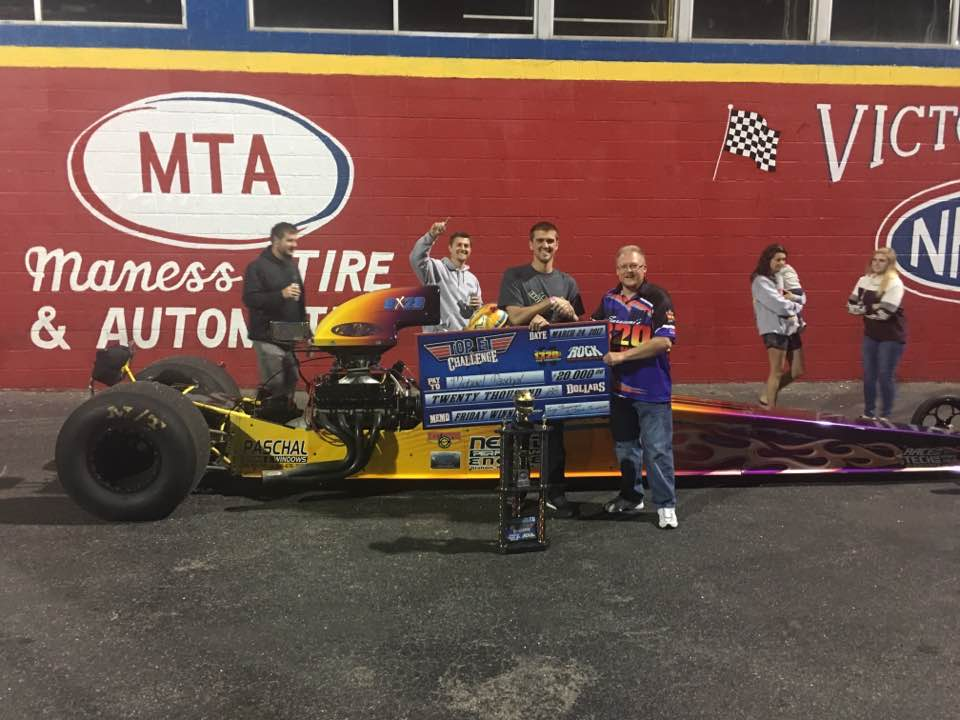 Paschal Wins First $20k at the Rock