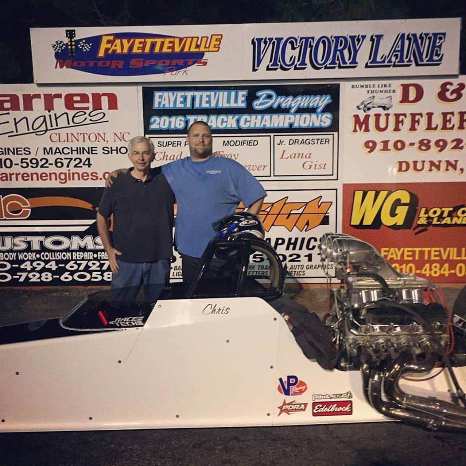 Chris Braxton Winner at Fayetteville
