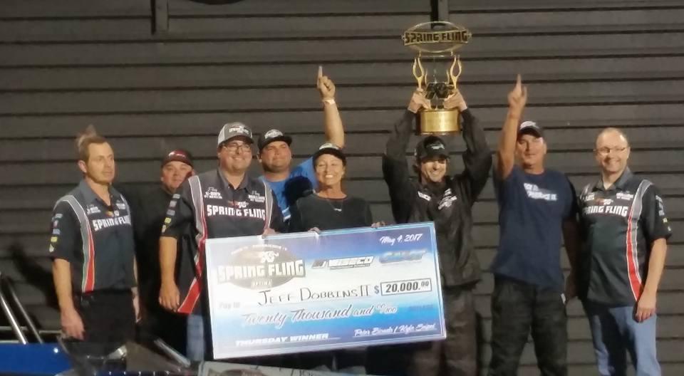 Jeff Dobbins II wins Big at the Fling