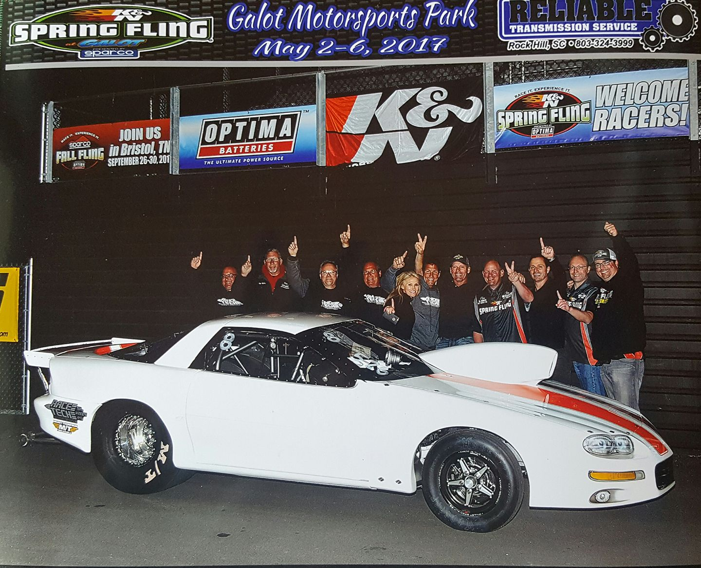 Cable Takes Links New Camaro to the Finals