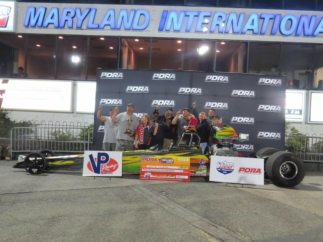Jerry Langley Wins PDRA Top Dragster