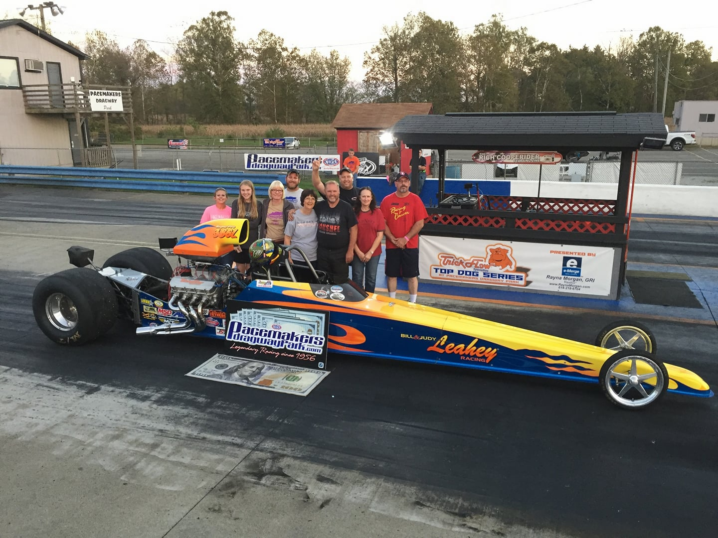 Bill Leahey Picked up a Win Last Week