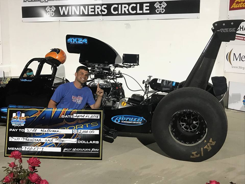 Will Hollowman Gets First Win of the Season