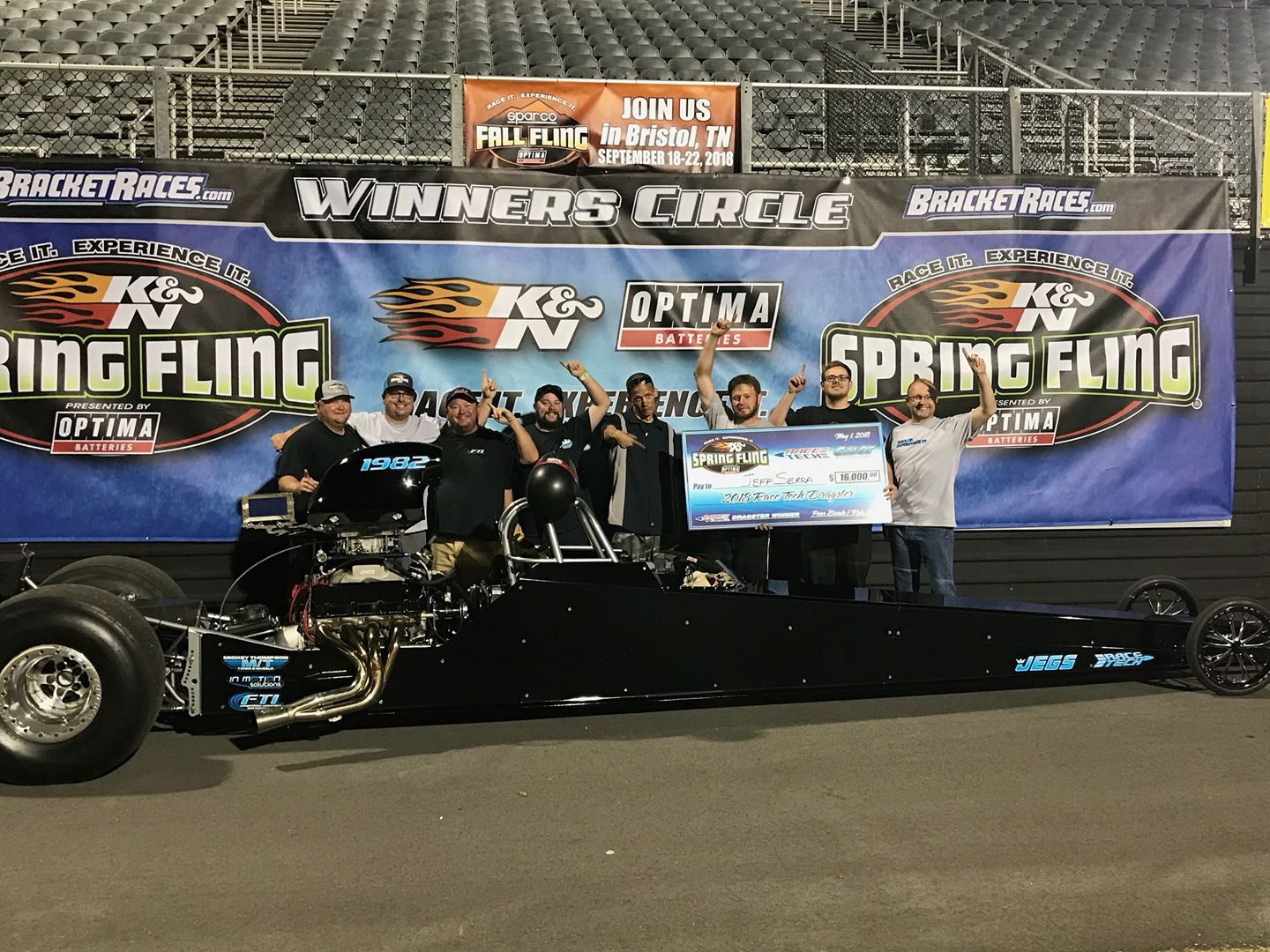 Jeff Serra Wins Spring Fling Dragster Shootout
