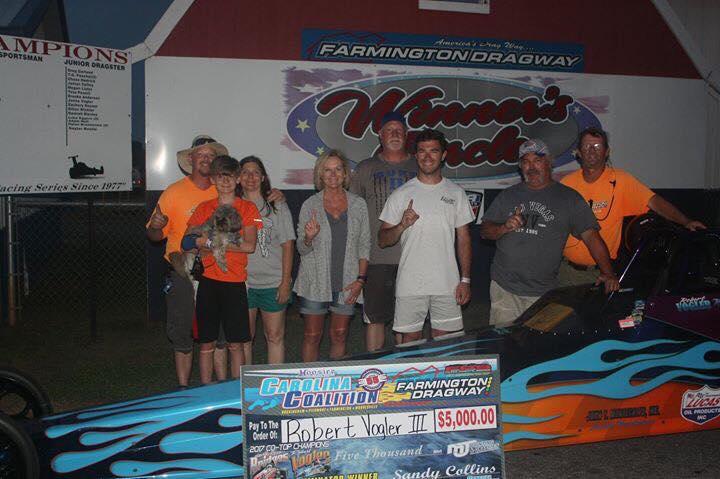 Robert Vogler Wins Carolina Coalition Race at Farmington