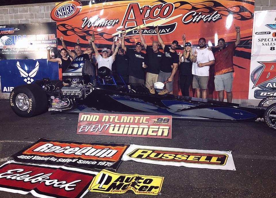 Don Bangs picks up the win at Atco