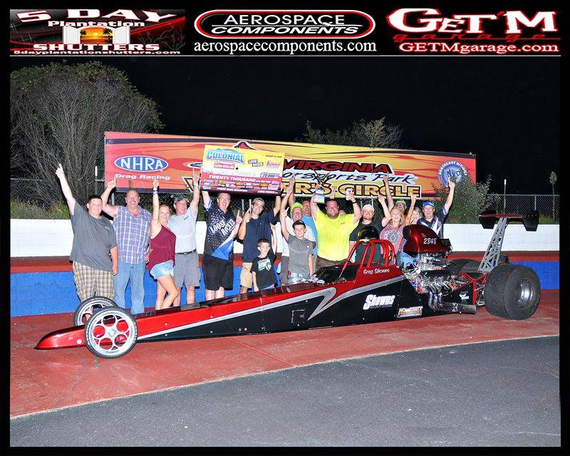 Greg Showns walks away with a $20,000 pay day at VMP