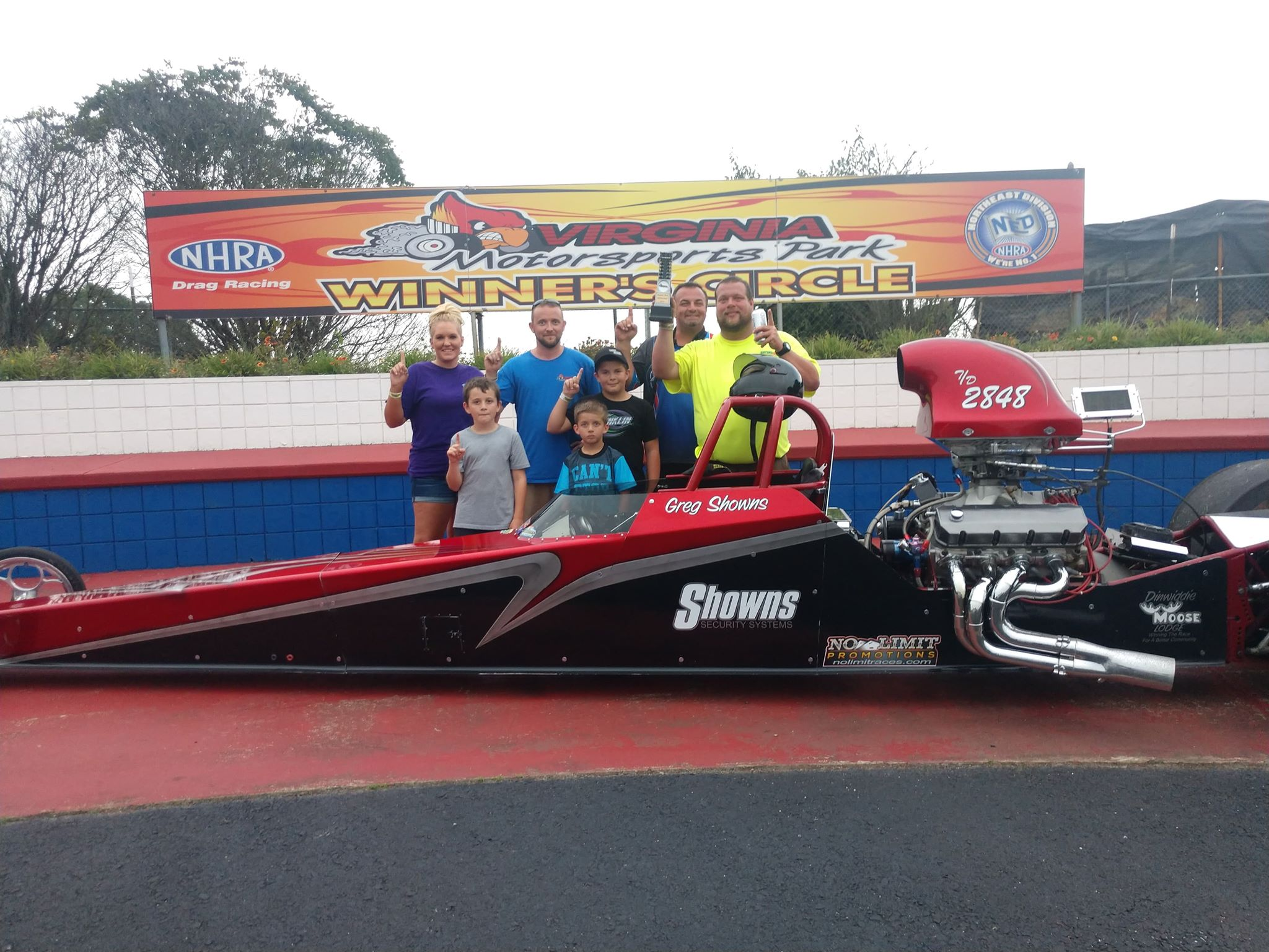 Greg Showns grabs another win at VMP