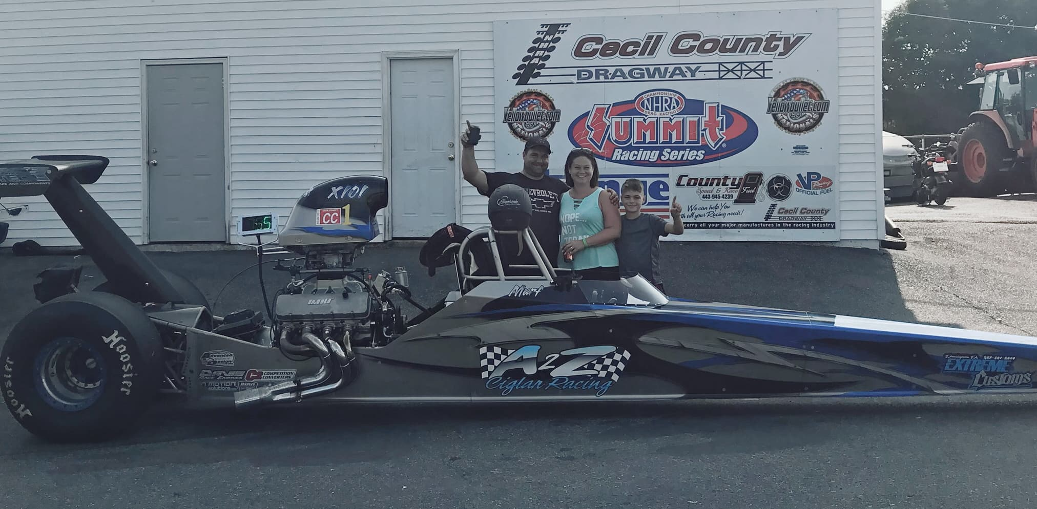 Bob Murphy Jr wins another Track Championship at Cecil County Dragway!