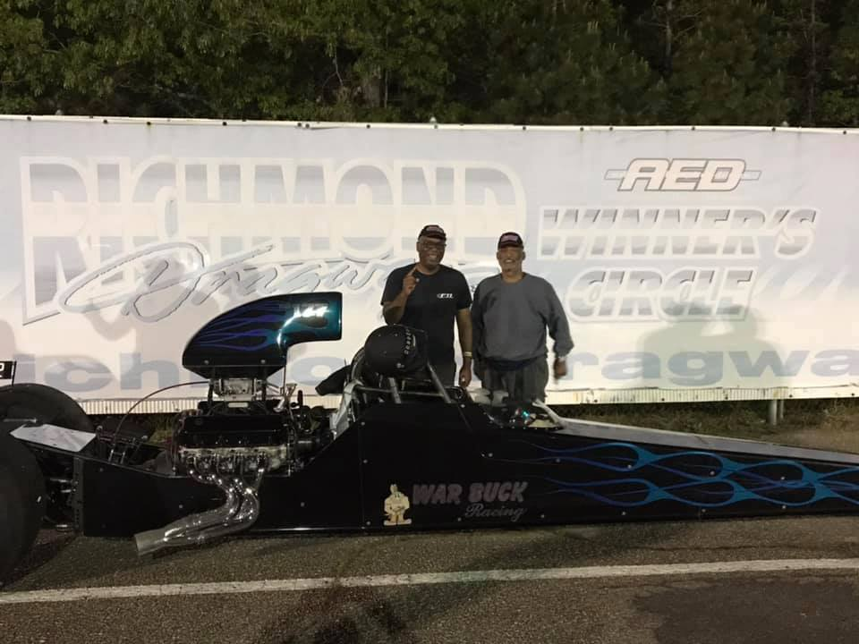 Bruce Harrison grabs a Gambler Race win at Richmond Dragway