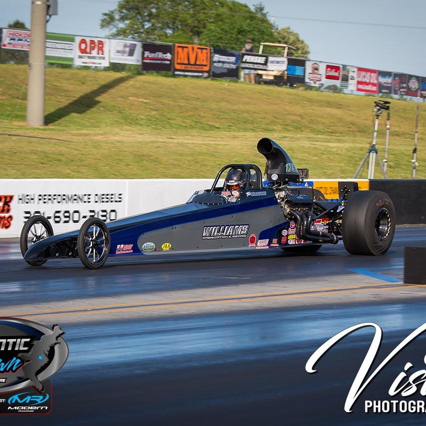Tim Williams wins PDRA Top Dragster at Virginia