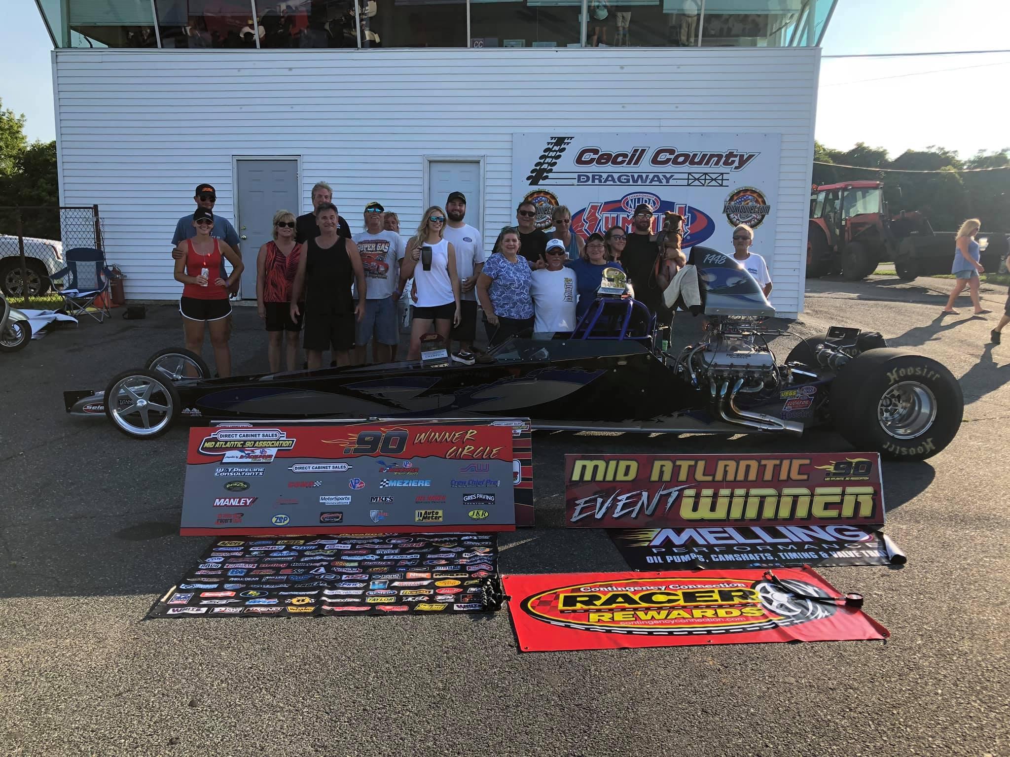 Don Bangs wins at Cecil Dragway