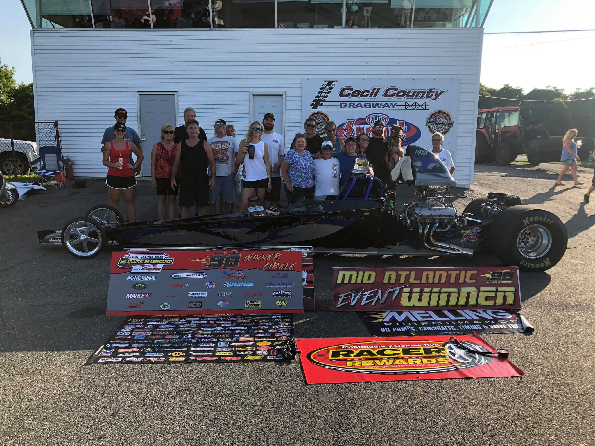 Don Bangs wins at Cecil Dragway