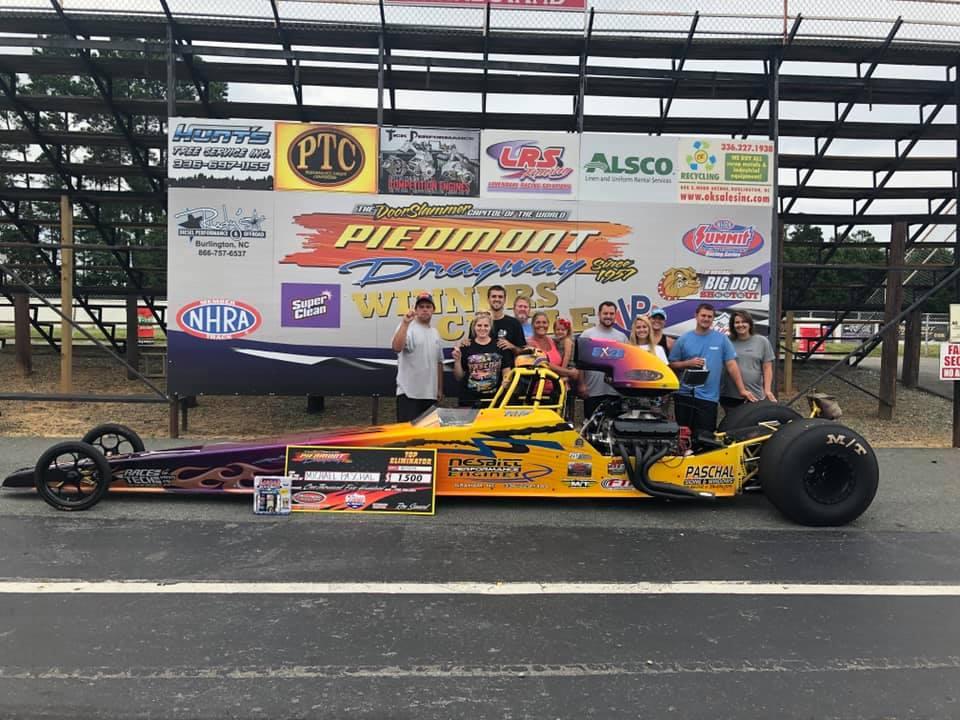 Michael Paschal knocks them down at Piedmont