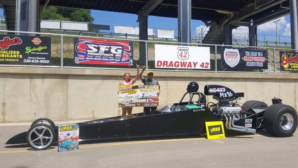 Megan Lotts wins big at Dragway 42