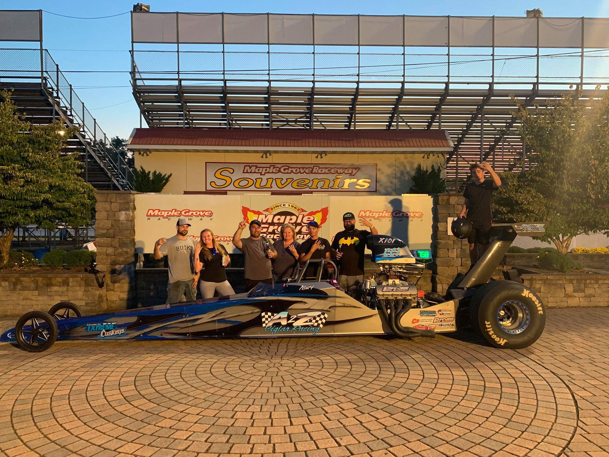 Bob Murphy Jr crowned points champion at Maple Grove Raceway