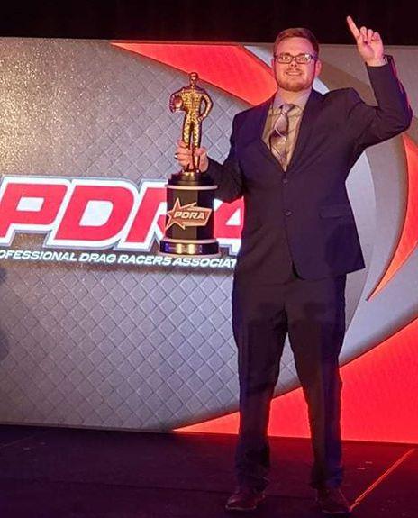 Kellan Farmer Crowned PDRA Elite Top Dragster World Champion