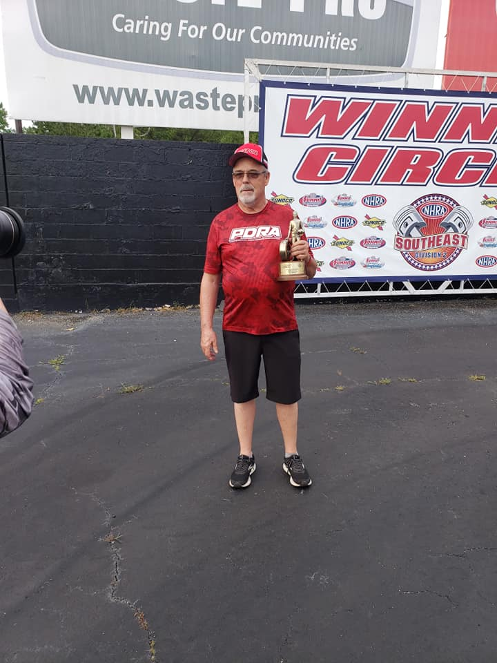 Vance Houston wins top dragster at D2 divisional