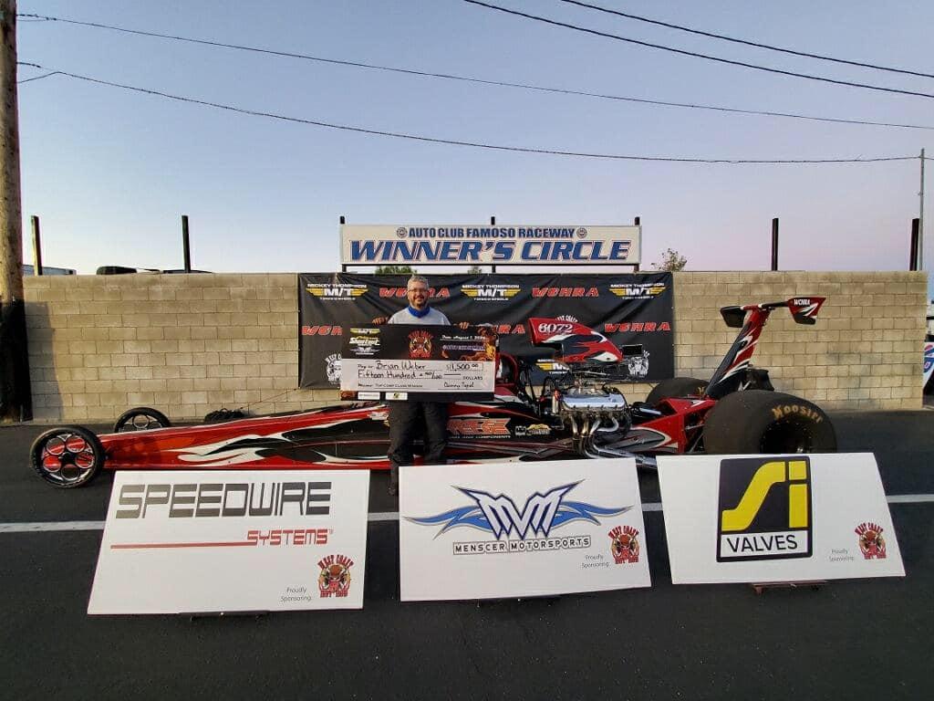 Brian Weber wins at Famoso Raceway
