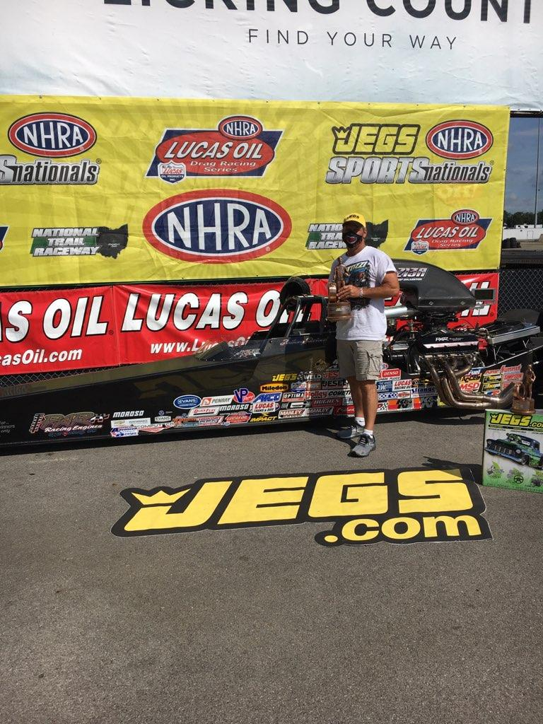 Anthony Bertozzi Wins NHRA Sportsman Nationals!