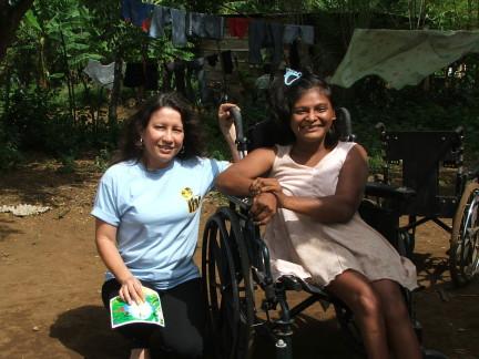 Wheelchair distribution nicaragua