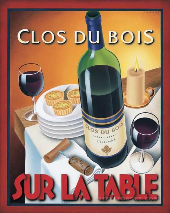 clos du bois zinfandel wine