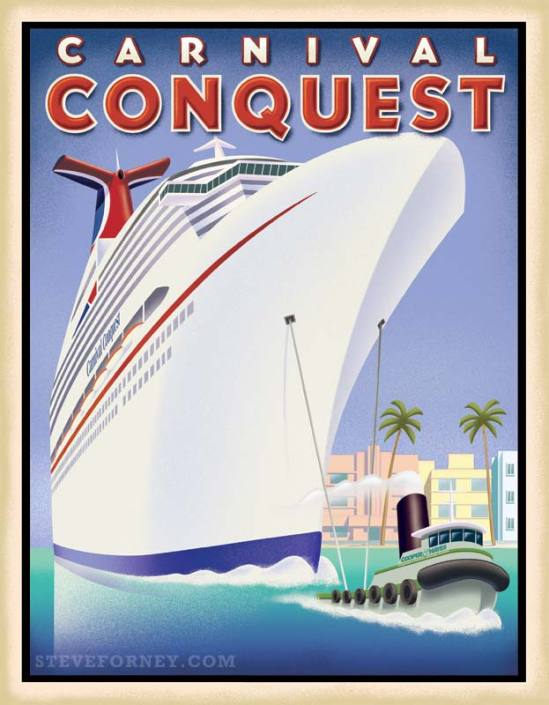 carvival conquest cruise liner