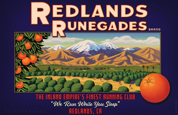 Steve forney Redlands Orange Label