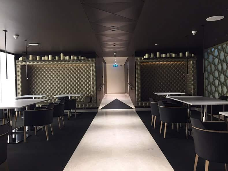 Qatar Air - Premium Lounge - Bangkok Airport