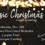 Classic Christmas – A Night of Caroling!!  This Wednesday!!