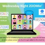 Wednesday ZOOMin' Starts 10.7.20